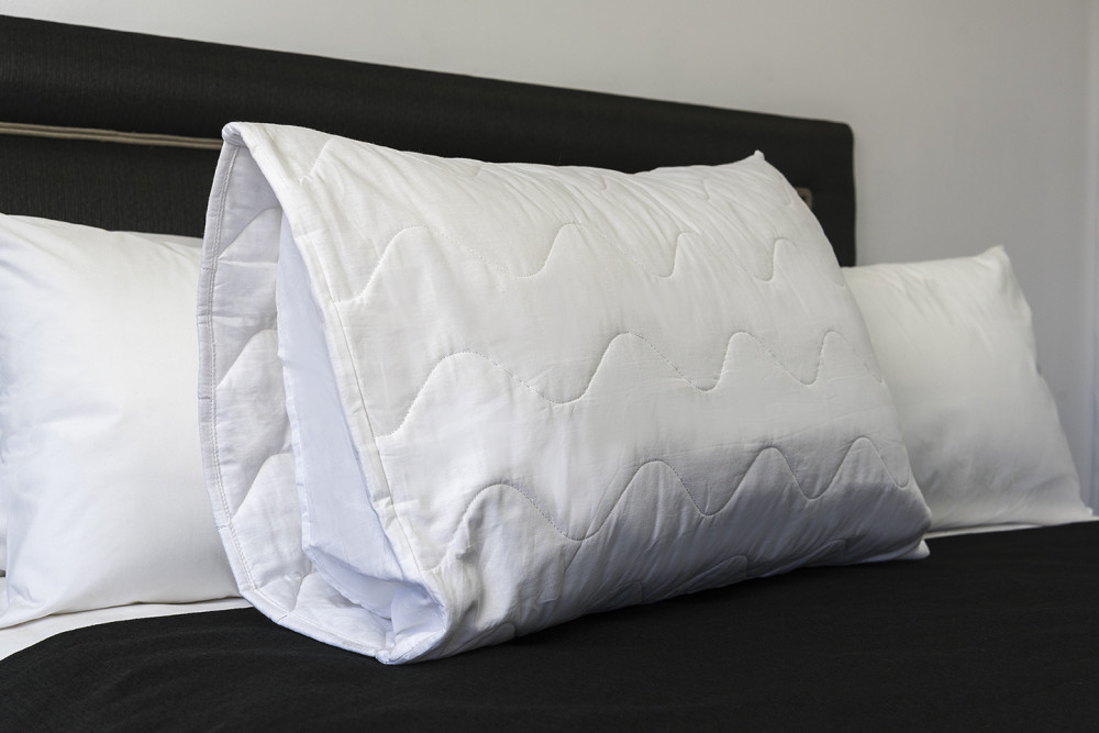 Pillow Protector Cotton Quilted Envelope End King Tony